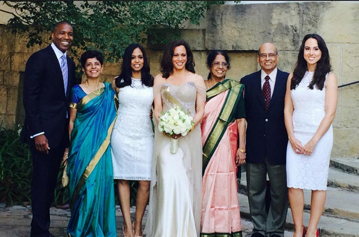 عروسی خانم کامالا هریس در سال ۲۰۱۴
