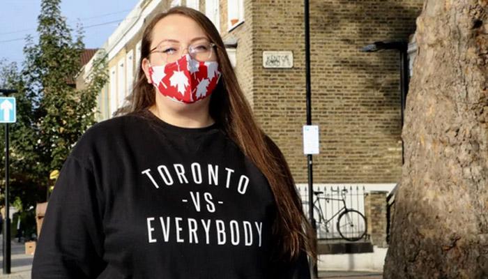 تلاشهای داوطلبانه دختر کانادائی دانشجوی دکترا در انگلیس برای کمک به مردم در مقابله با کرونا