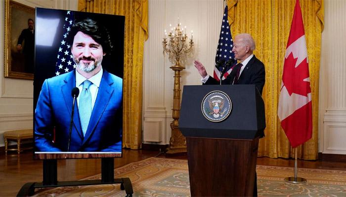 ماه عسل دوباره برای روابط آمریکا و کانادا؛ دیدار مجازی بایدن و ترودو