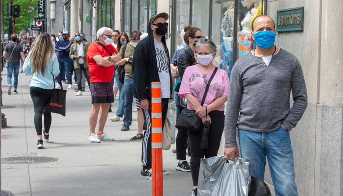آمار کرونا در شهر تورنتو امروز به کمترین میزان از زمان شروع موج سوم رسید