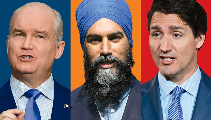 انتخابات کانادا 2021