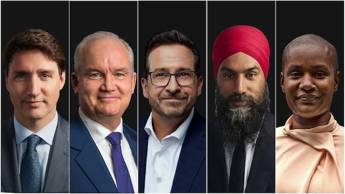 گزارش آتش از رویارویی تند و صریح رهبران احزاب کانادا در آخرین مناظره انتخاباتی